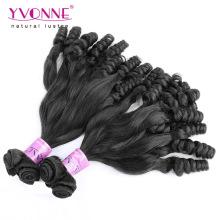 Großhandelsfrau Virgin Funmi Menschliche Haar-Webart