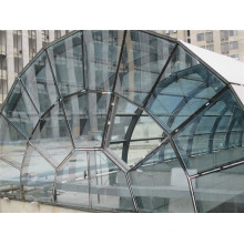 Global Harbor Steel Structure Glass Skylights Roof