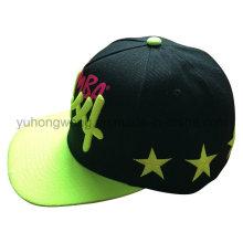 Snapback caliente de la venta se divierte el sombrero, casquillo de béisbol