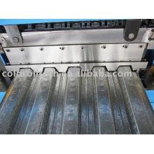 Rolo de aço da plataforma do metal do assoalho da construção que forma a máquina