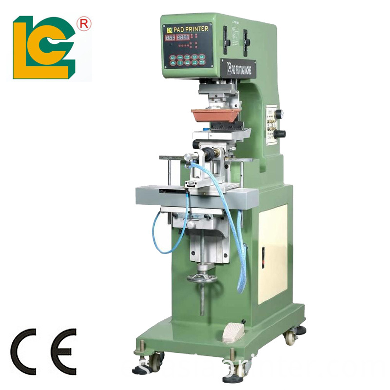 Single- Color Rotatory Tampon Printing Machine