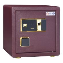Banco usado caixa de segurança cofre de segurança de bloqueio de impressão digital de aço completo cofre de armazenamento do armário