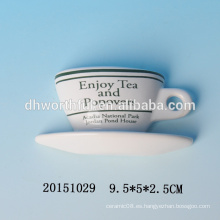 Imanes cerámicos del refrigerador del diseño de la mini taza