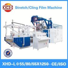 hand grade and machine grade pallet stretch packaging film extruder