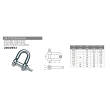 Hardware Wholesale Us Type Shackle