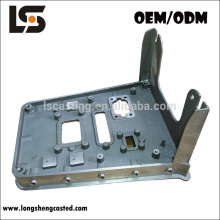 Fixation en aluminium faite sur commande de construction de moulage mécanique sous pression