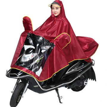 Poncho impermeable 100% poliéster individual / doble exterior