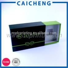 Coffret cosmétique adapté aux besoins du client de tiroir de carton dur de style de carton dur