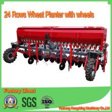 24rows Многофункциональная сеялка Плантатор с колесами для трактора реализует