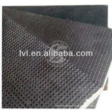 good quality anti-slip 12mm brown film faced shuttering plywood sheet for construction
