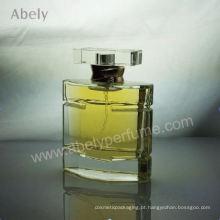 Hot vendendo vidro pesado perfumes originais com cheiro duradouro