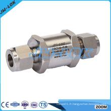 Clapet anti-retour standard à haute pression