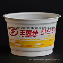 Take Away de Custom Popular Design de Multicolor Plastic Bowl