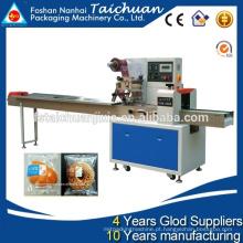 TCZB-250B Máquina de embalagem de embalagens de fluxo para pastelaria