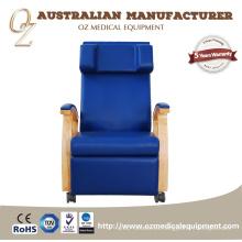 Grado médico fabricante australiano ISO 13485 silla de infusión profesional silla de donación de sangre sofá de transfusión de sangre