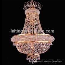 Lampe à suspension en cristal pour éclairage à la maison