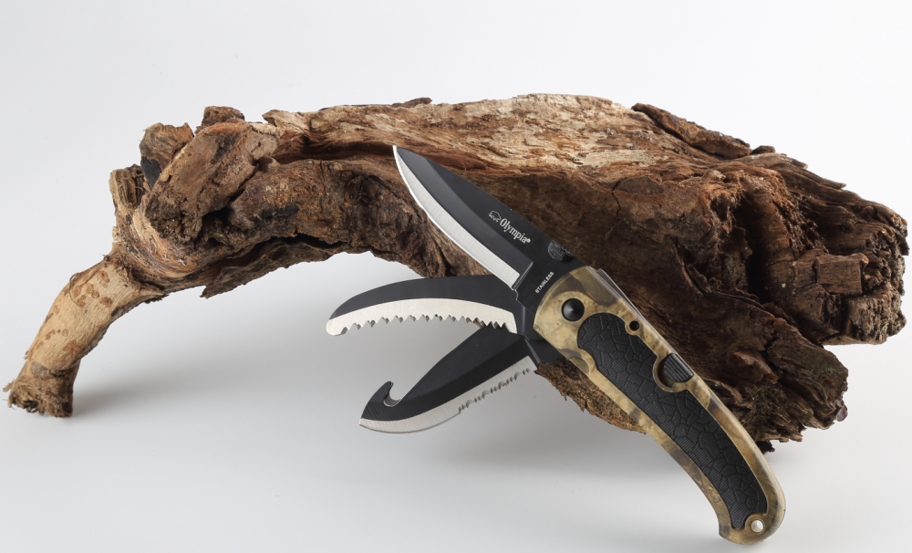 Camo Handle Outdoor Knife