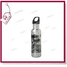 600 мл бутылка воды белый/серебристый для сублимации, Mejorsub