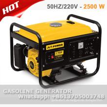 100% Kupferdraht 2,5 kW Benzinerzeuger mit CE und GS