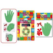 Kinder Dekoration Zubehör Ornament DIY Schwein Papier Handwerk