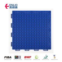 Enlio plastic grid interlocking tile removable basketball