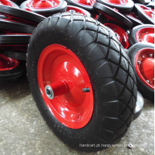 Roda pneumática para carrinho de mão / carrinho de mão / carrinho de ferramentas