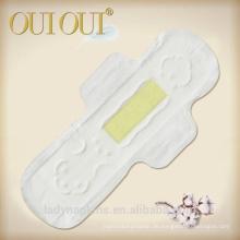 Fabrikpreis Anion Damenbinden mit Bambus-Chip-Verteiler