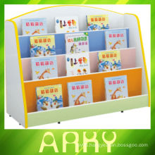 Nursery School Melamine Particle Board Kids Bookshelf