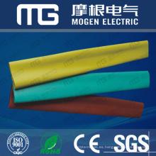 Fabricación profesional fuerte capacidad de carga 10 mm de color rojo tubo termoencogible