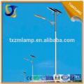 luz de rua solar de poupança de energia nova de YANGZHOU / com os pólos claros de rua octogonais