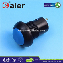 Interruptor de botón a prueba de agua Daier DS-12B-L, interruptores eléctricos%