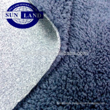 100% Polyester bonded polar fleece fabric for winter cloth
