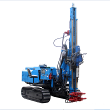 360 degree solar hydraulic pile drilling driver for sale