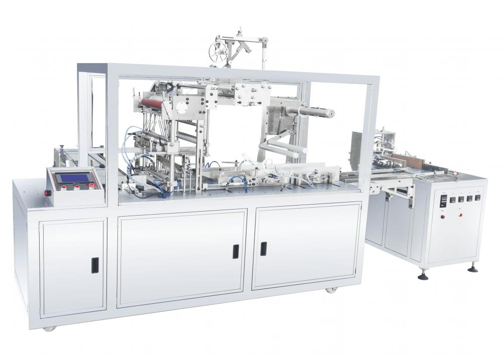Three-dimensional packaging machine-4G corner