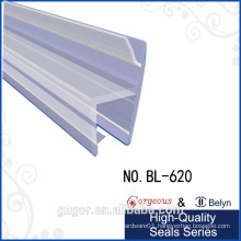 Belyn waterproof adhesive shower rubber seal strip for glass door