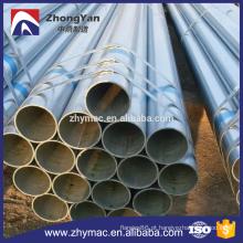 alta qualidade e melhor preço para a tubulação de aço galvanizada