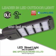 Lumière réglable de zone de 240w LED approuvée par UL DLC de bras avec le protecteur de montée subite