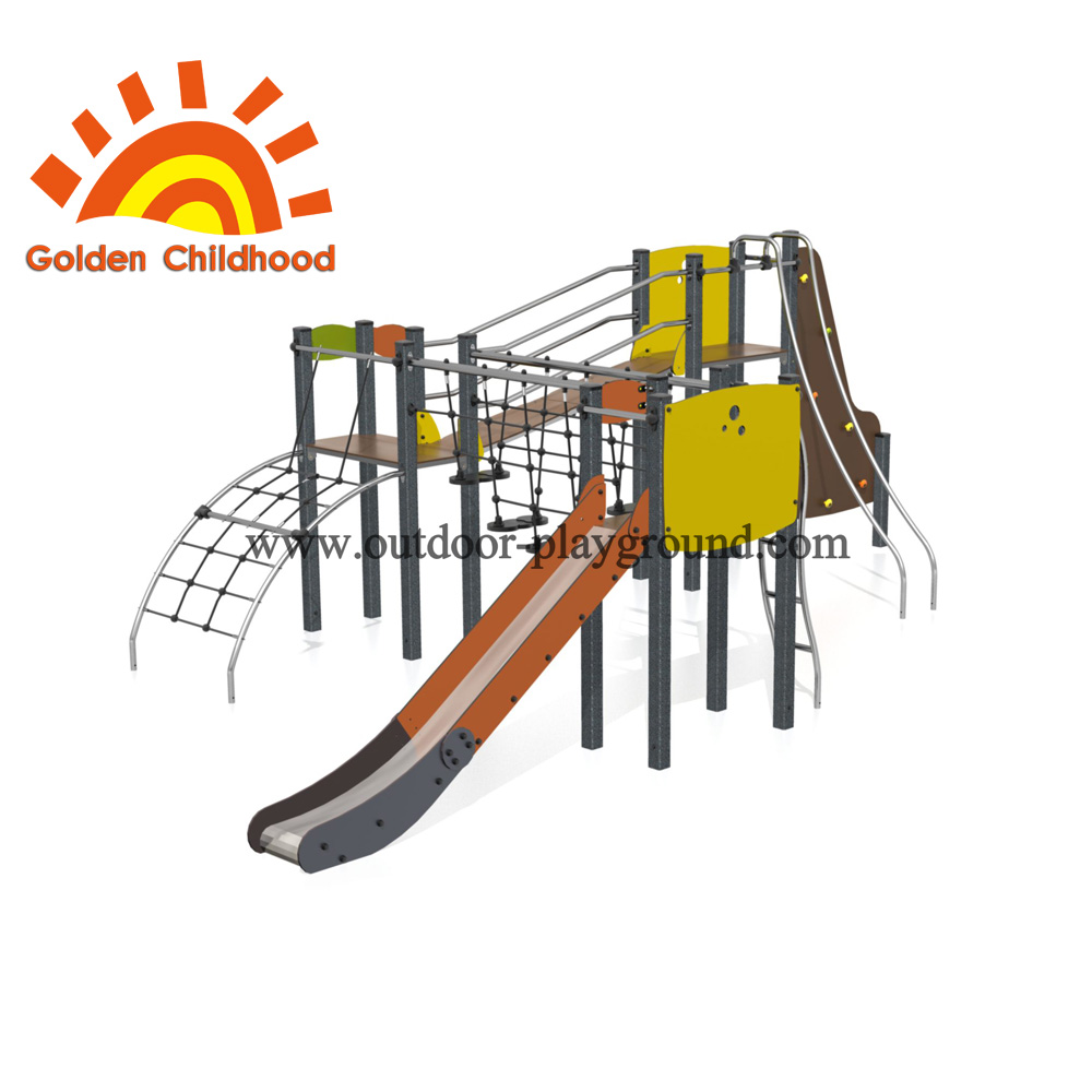 Climbing Balance Playset Outdoor Playground Equipment For Sale