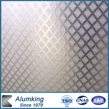 Placa de aluminio en relieve 1050/1060/1100 Aleación
