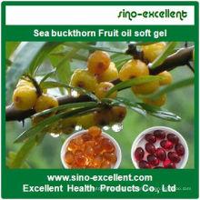 Hochwertiges Sanddorn Fruchtöl Softgel