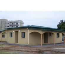 Maison préfabriquée, maison modulaire, maison préfabriquée de récipient