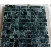 Mosaïque en marbre vert en pierre (HSM212)