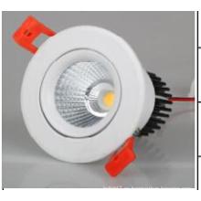AC85-265V alto brillo COB LED abajo luz