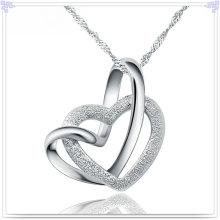 Collar pendiente de moda 925 joyas de plata esterlina (NC0100)
