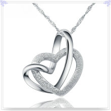 Fashion Pendant Necklace 925 Sterling Silver Jewelry (NC0100)