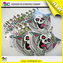 China supplier coloring sticker printing and printing epoxy doming sticker