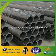 ASTM A106 бесшовная углеродистая стальная труба / труба для строительства