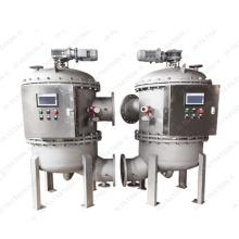 Carcasas de filtros autolimpiantes en línea con retrolavado automático