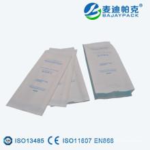 Petite poche de papier de stérilisation de gousset laminée chaude de vente