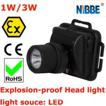 Explosionsschutz LED-Kopf-Taschenlampe